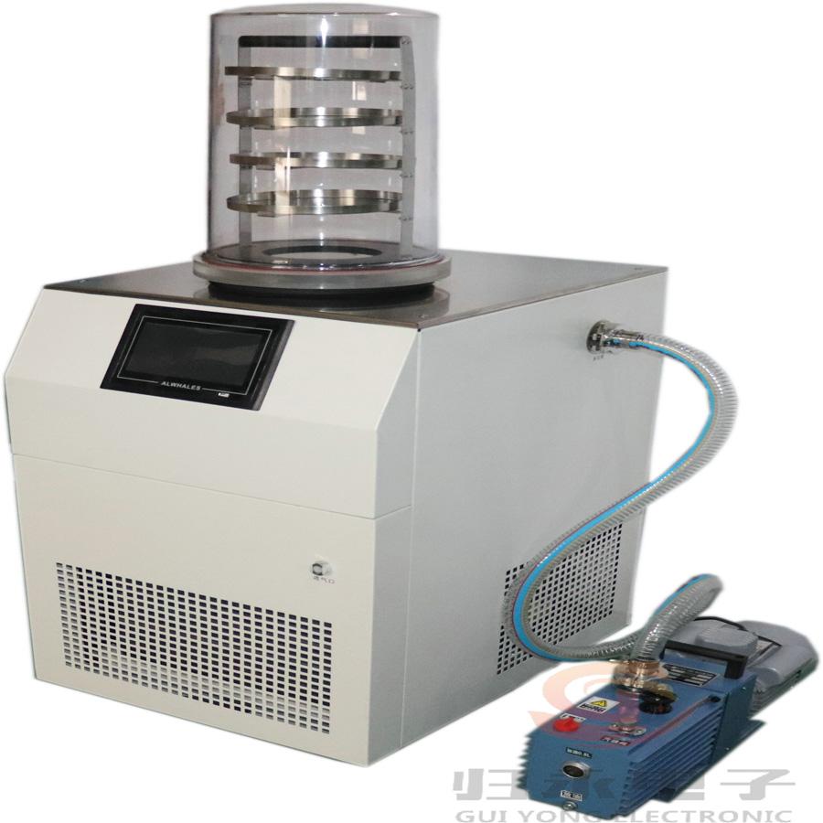 归永仪器蜂王浆冷冻干燥机型号,台式真空冷冻干燥机品牌GY-1A-80