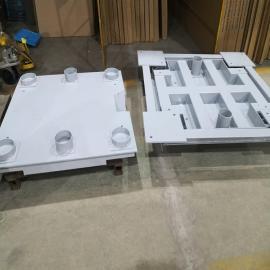 国产5吨1212双层带框加厚电子地磅缓冲秤SCS5-1212