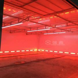 强xin烤漆设备红外线烤漆房大型工�dao揖呋�械五金烘干房QX非标ding制款