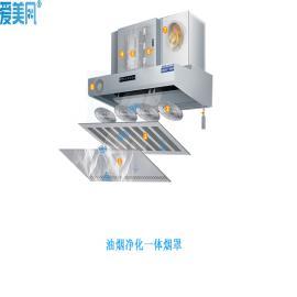 厨房抽油烟净化复合式一体机