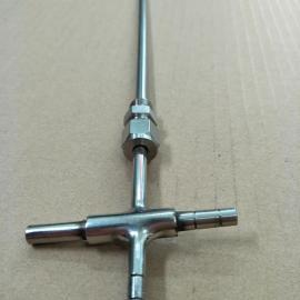 金枭直型卡套皮托管IPTK-6-500