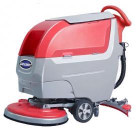 洗地机品牌 捷恩GEXEEN全自动电瓶式地面清洗清洁设备 工厂车间地下车库用 手推式 驾驶式