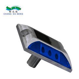 畅达能带钉柱小四方铸铝道钉 自发光夜间诱导灯