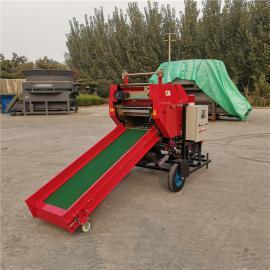 圣泰青贮牛饲料圆捆打包机 打捆包膜机市场品牌YK5552