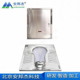 安邦杰jing区免chong水厕所fa泡蹲便器 ABJ-FP-102