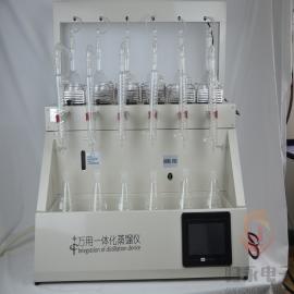 归永挥发酚蒸馏装置生产商,智能带风冷一体蒸馏仪品牌GY-ZNZLY