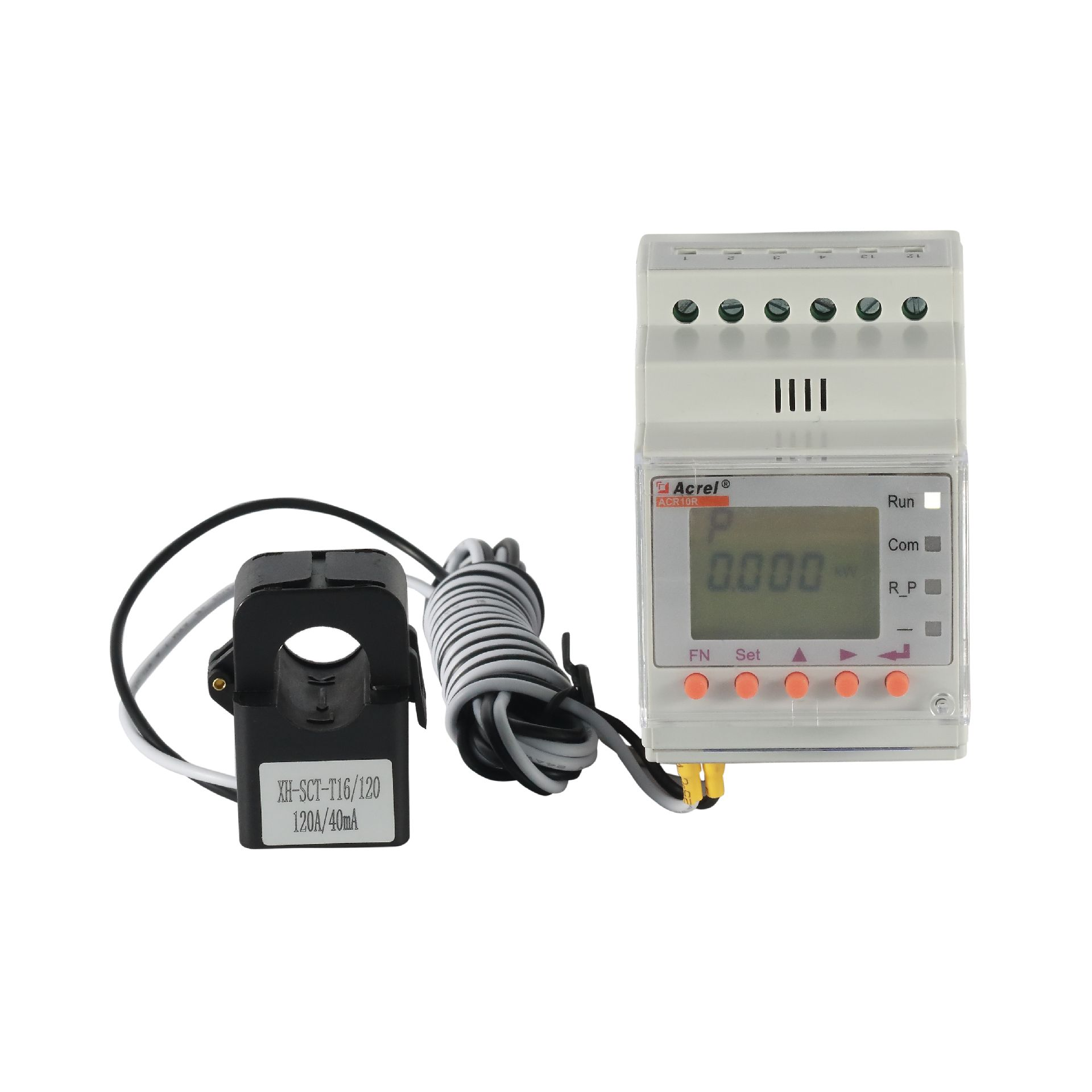 安科瑞防逆流单相电能表 导轨安装电表ACR10R-D16TE