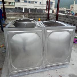 华腾达1.5吨保温不锈钢膨胀水箱定制HTD-BW30T