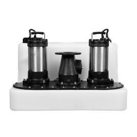 佐水安装别墅专用污水提升设备地下污水排放S750