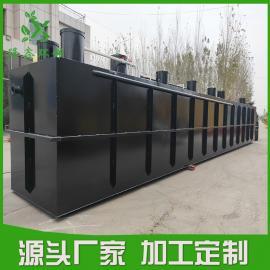 农村一体化污水处理设备 地埋式农村废水处理设�fu�―隆鑫环保