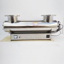净淼管道式紫外线杀菌器深井水/地下水/原水处理紫外线消毒器JM-UVC-160