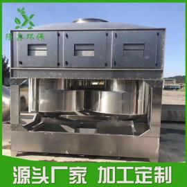 塑料制粒废气处理设备 注塑行业废气治理设备――隆鑫环保