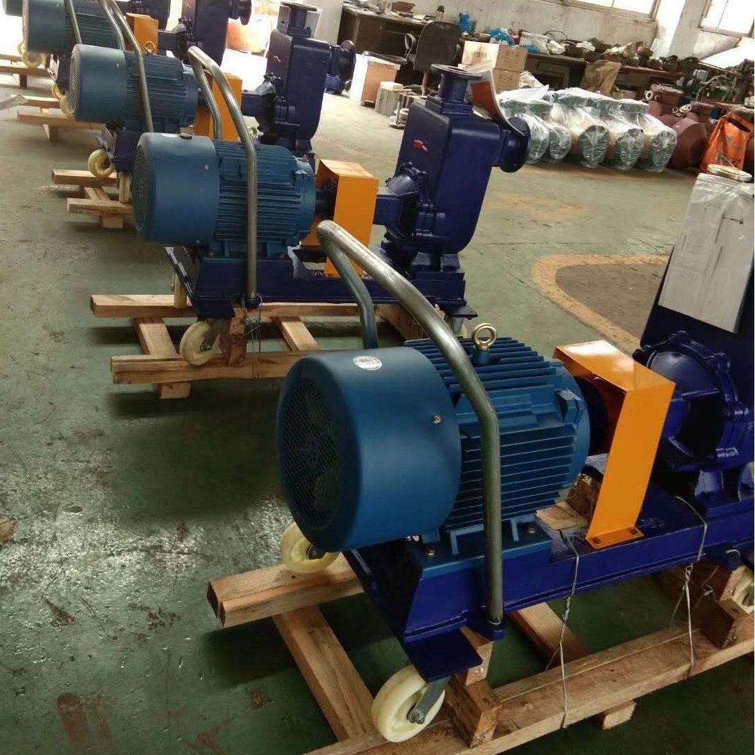 四轮推车自吸排污泵EQZW