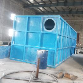辛冲碳钢玻璃钢防腐生物滤池厂