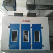 强鑫环保型汽车烤漆房 红外线电加热烤房 标准小轿车喷漆房QX1000A