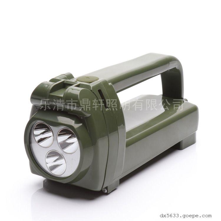 鼎轩照明手摇充电式工作灯班用搜索灯9W磁吸式IW5520