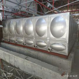 华腾达不锈钢焊接水箱定制安装流程HTD-BXG30T