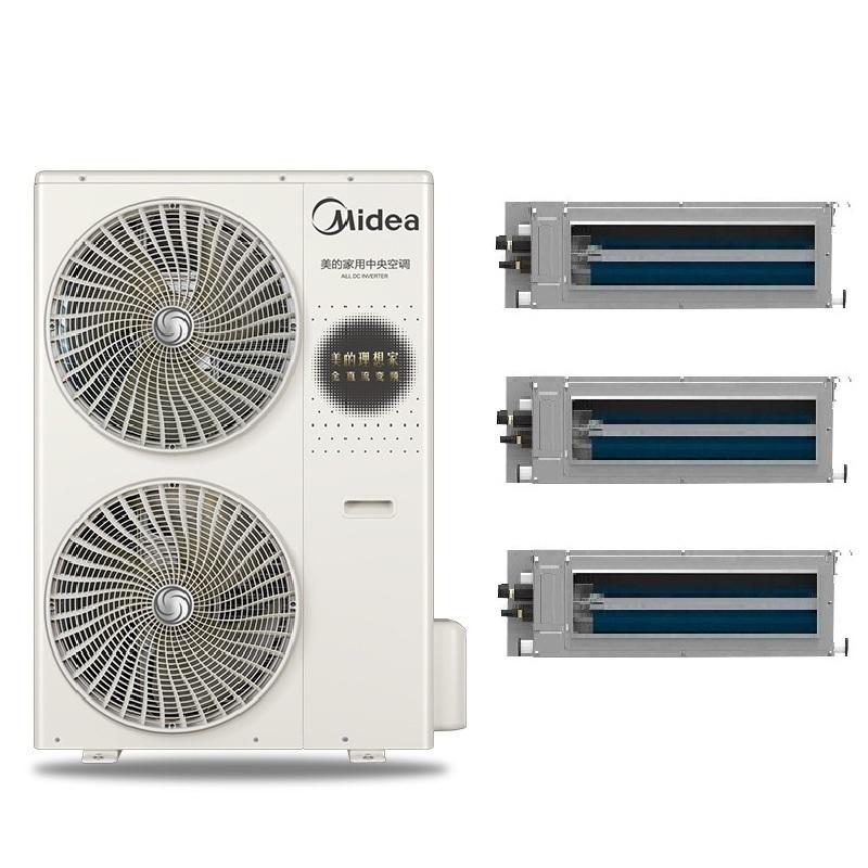 美的(MIDEA)美的中央空调5匹一拖五 美的多联机家用户式系列 美的变频风管机MDVH-V120W/N1