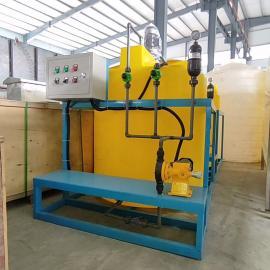美信沃旗养殖废水处理加药装置 絮凝剂投加设备WQJY
