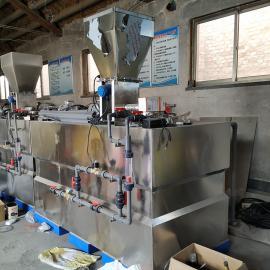 美信沃旗污水处理厂PAM自动溶药机 助凝剂投加装置WQJY