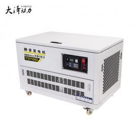 大泽动力15KW静音汽油发电机参数表