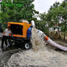 君东动力防汛抢险1000方大功率移动式抽水泵10寸柴油机强自吸污水泵JDT10-800