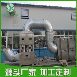 烟气脱硫废气处理设备 低温等离子设备 高效湍流喷淋塔 ――隆鑫环保