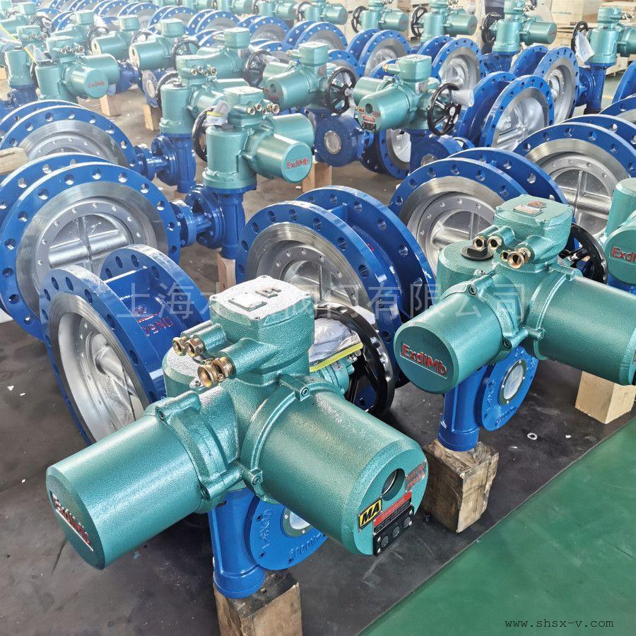 水兴阀门D943F-25C-DN500煤安防爆智能一体化矿用电动瓦斯专用阀D943F、WSD94F、D943H等