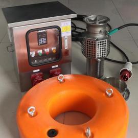 鄂泉大流量便携式潜污泵EQWQF