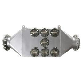 绿联净化再生式工艺叉车黑烟净化捕集器 PM干式过滤器 柴油机尾气治理黑烟净化器