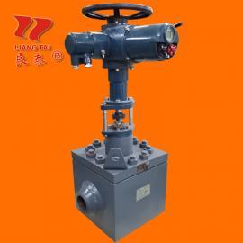煅造ZAZME-320K电动高压调节阀PN320