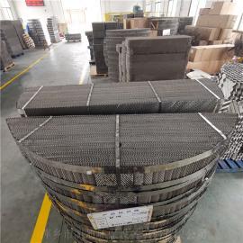 凯迪粗镏塔CY700型丝网波纹不锈钢规整填料BX500 CY700 AX250