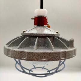 言泉电气LED防爆厂房车间免维护圆形泛光灯-管吊式