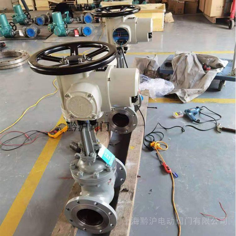 黔沪Z941H型铸钢阀门 国标闸阀Z941H-40C DN200