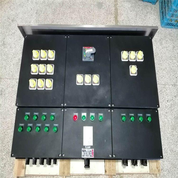 依客思防爆检修电源插座箱/带总开关 过载 断路保护BCX52-4/10A