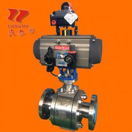 氧气专用ZSHO-63D气动活sai式O型切断球阀