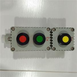 依客思防爆控制按�o盒/5A/220V/380V/�鸿T�X合金材�|LA-2B/WF1