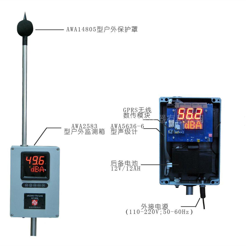 爱华AWA6218S噪声自动监测系统