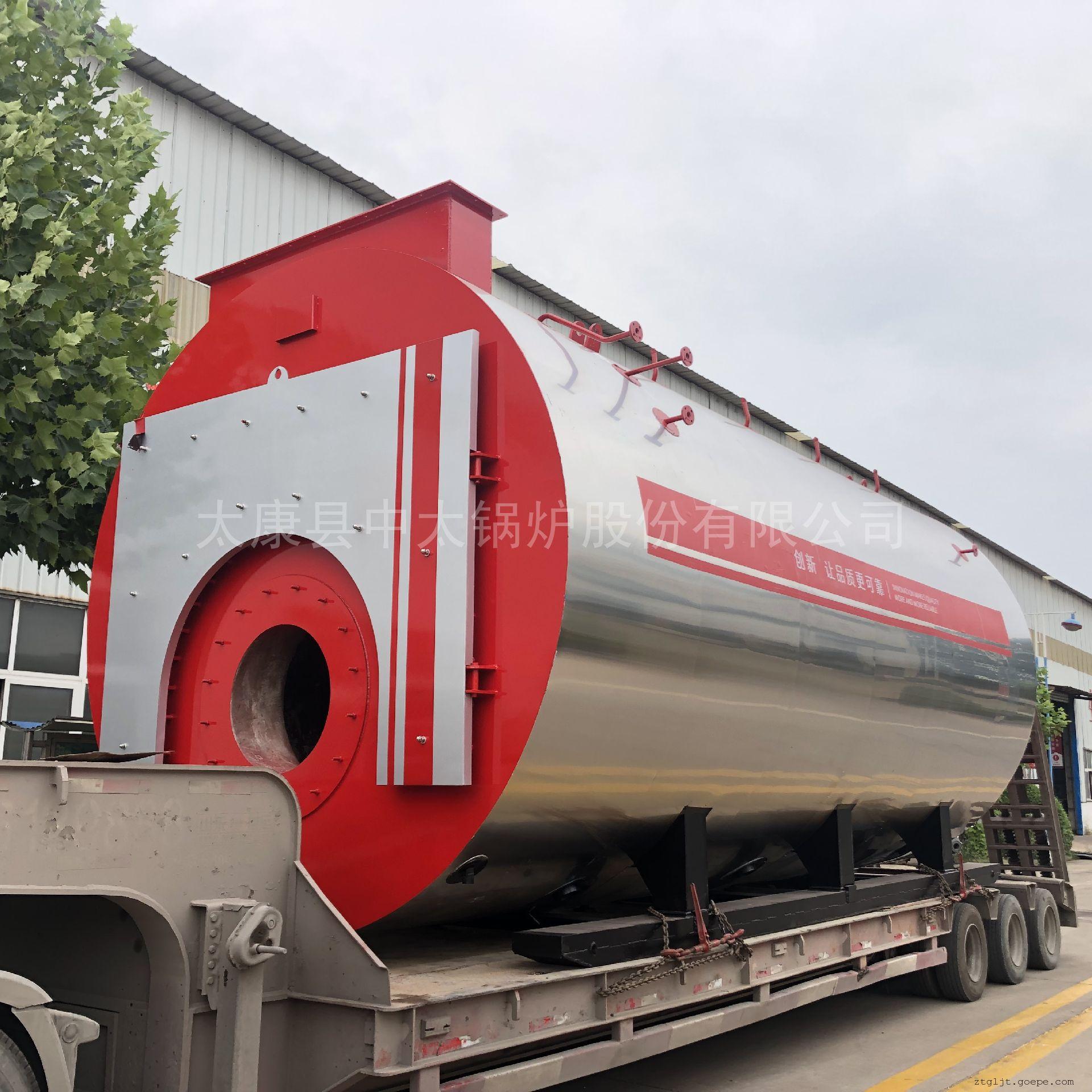 中太 WNS型 燃气3吨超低氮蒸汽锅炉 参数 全套配置