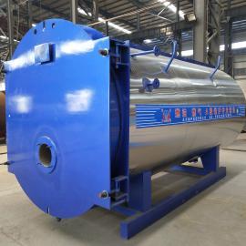 中太锅炉燃气4吨卧式天然气热水锅炉4吨节能环保燃油燃气蒸汽锅炉WNS4-1.25-YQ