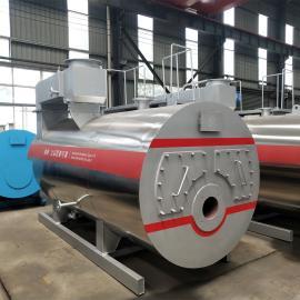 中太锅炉6吨燃油燃气锅炉超低氮节能环保天然气热水锅炉工业用锅炉WNS6-1.25-YQ