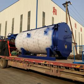 制药工业天然气锅炉 1吨天然气蒸汽锅炉