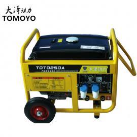 大泽动力230A汽you发电焊机wa掘机焊接TOTO230A