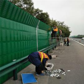 扩zhangao速公路弧xing公路声屏zhang金属百叶隔音屏