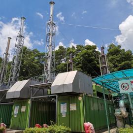 绿联净化烟气脱硝系统,生活垃圾填埋厂,沼气发电机组氮氧化物排放治理,SCR脱硝系统