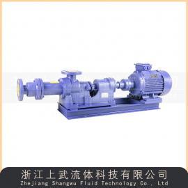 1寸型浓浆泵 油水分离专用螺杆泵 1.5寸排污泵I-1B