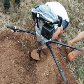 捷亚JYD-196A手扶式电杆打眼机多效型栽光伏杆工具