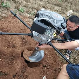 捷亚JYD-196A螺旋挖钻机光伏杆栽杆埋桩常用