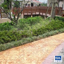 仿石材地面砖 颜色支持定制 现浇水泥模具压印 铺装简单异美47757