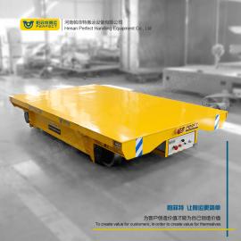 帕菲特低压轨道电动平板拖车绝缘轨道 地轨电动运输车BDG